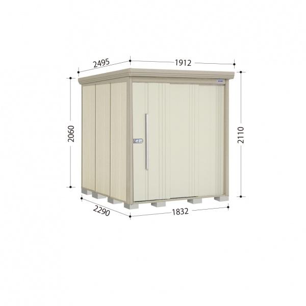 タクボ物置 ND/ストックマン ND-1822 一般型 標準屋根 『追加金額で工事も可能』 『屋外用中型・大型物置』 ムーンホワイト