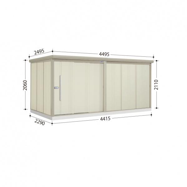 タクボ物置 ND/ストックマン ND-SZ4422 多雪型 結露減少屋根  『屋外用中型・大型物置』 ムーンホワイト
