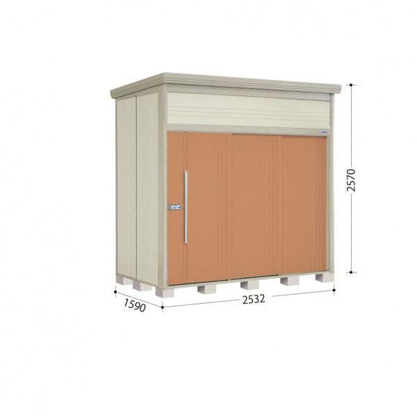 タクボ物置 JN/トールマン JN-2515 一般型 標準屋根 『追加金額で工事も可能』 『屋外用中型・大型物置』 トロピカルオレンジ