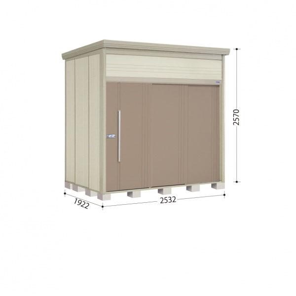 タクボ物置 JN/トールマン JN-S2519 多雪型 標準屋根 『追加金額で工事も可能』 『屋外用中型・大型物置』 カーボンブラウン