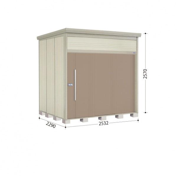 タクボ物置 JN/トールマン JN-S2522 多雪型 標準屋根 『追加金額で工事も可能』 『屋外用中型・大型物置』 カーボンブラウン