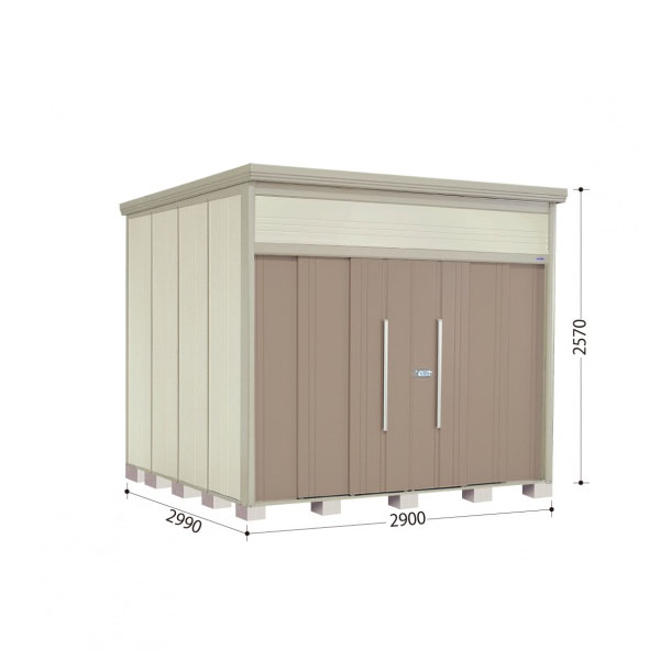 春のコレクション タクボ物置 JN/トールマン JN-2929 一般型 標準屋根 『追加金額で工事も可能』 『屋外用中型・大型物置』 カーボンブラウン:エクステリアのプロショップ キロ-エクステリア・ガーデンファニチャー