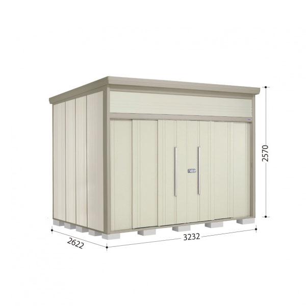 タクボ物置 JN/トールマン JN-S3226 多雪型 標準屋根 『追加金額で工事も可能』 『屋外用中型・大型物置』 ムーンホワイト