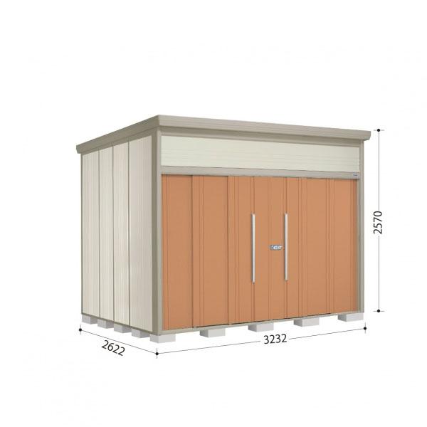 タクボ物置 JN/トールマン JN-SZ3226 多雪型 結露減少屋根 『追加金額で工事も可能』 『屋外用中型・大型物置』 トロピカルオレンジ