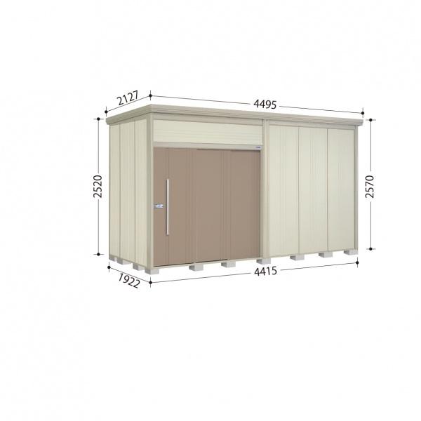 タクボ物置 JN/トールマン JN-4419 一般型 標準屋根 『追加金額で工事も可能』 『屋外用中型・大型物置』 カーボンブラウン