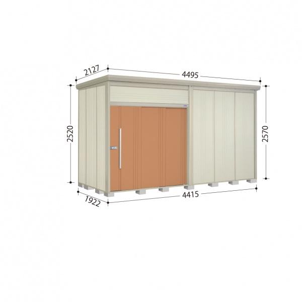 タクボ物置 JN/トールマン JN-S4419 多雪型 標準屋根 『追加金額で工事も可能』 『屋外用中型・大型物置』 トロピカルオレンジ