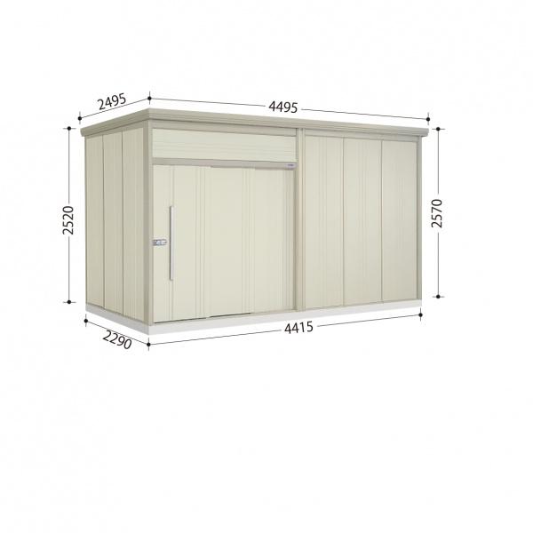 タクボ物置 JN/トールマン JN-S4422 多雪型 標準屋根  『屋外用中型・大型物置』 ムーンホワイト