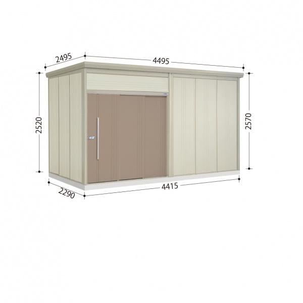 タクボ物置 JN/トールマン JN-S4422 多雪型 標準屋根  『屋外用中型・大型物置』 カーボンブラウン