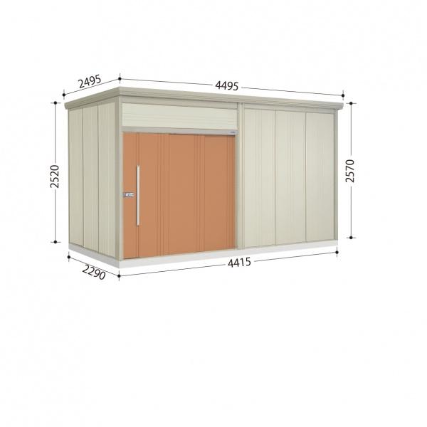 タクボ物置 JN/トールマン JN-SZ4422 多雪型 結露減少屋根  『屋外用中型・大型物置』 トロピカルオレンジ