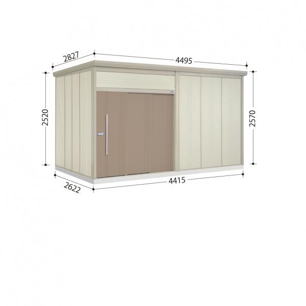 タクボ物置 JN/トールマン JN-S4426 多雪型 標準屋根  『屋外用中型・大型物置』 カーボンブラウン
