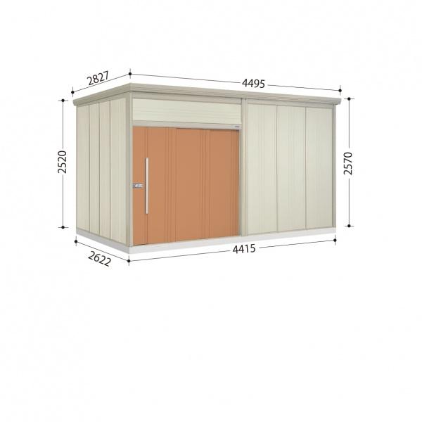 タクボ物置 JN/トールマン JN-SZ4426 多雪型 結露減少屋根  『屋外用中型・大型物置』 トロピカルオレンジ