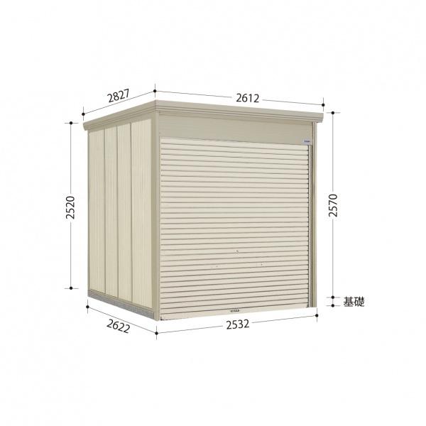 タクボ物置 WS/シャッターマン WS-2526 一般型 標準屋根  『屋外用シャッター式物置』