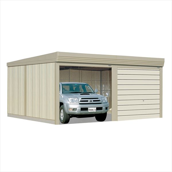 タクボガレージ ベルフォーマ SM-6253 一般型 標準型 2台用 『シャッター車庫 ガレージ』