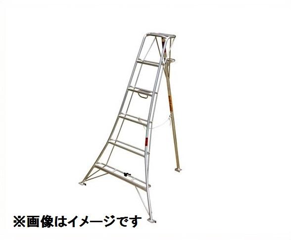 ナガノ アルミ三脚 N型支柱固定式 平地用 N-6 『アルミ三脚』
