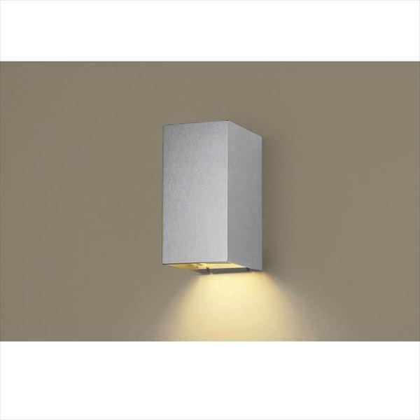 パナソニック HomeArchi LED電球ブラケット LGWC81566SF(100V) センサあり 点灯省エネ型 『ホームアーキ エクステリア照明 ライト』 シルバーメタリック