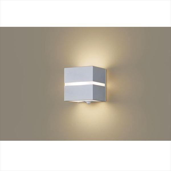 パナソニック 設備照明コーディネイトシリーズ LEDブラケット LGWC80351LE1(100V) 点灯省エネ型 『エクステリア照明 ライト』 シルバーメタリック