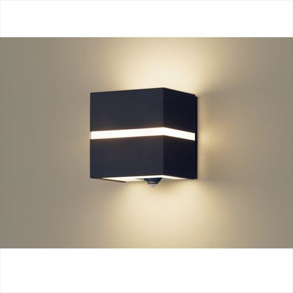 パナソニック 設備照明コーディネイトシリーズ LEDブラケット LGWC80355LE1(100V) 点灯省エネ型 『エクステリア照明 ライト』 オフブラック