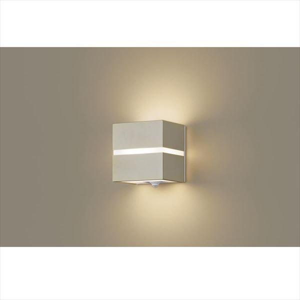 パナソニック 設備照明コーディネイトシリーズ LEDブラケット LGWC80354LE1(100V) 点灯省エネ型 『エクステリア照明 ライト』 プラチナメタリック