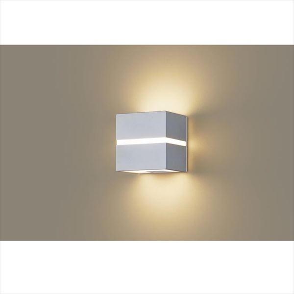 パナソニック 設備照明コーディネイトシリーズ LEDブラケット LGW80351LE1(100V) 『エクステリア照明 ライト』 シルバーメタリック