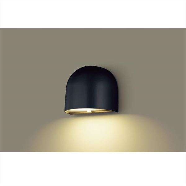 パナソニック LED表札灯 LGW85102BK(100V) 『エクステリア照明 ライト』 オフブラック
