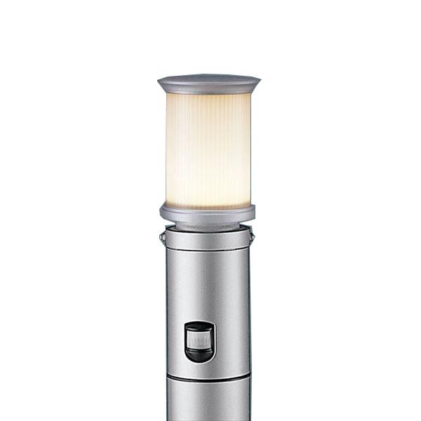 パナソニック LEDポールライト XLGEC519HZ(100V) 点灯省エネ型 センサ付き 『エクステリア照明 ライト』 シルバーメタリック