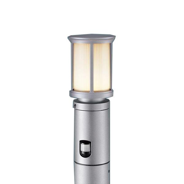 パナソニック LEDポールライト XLGEC510HZ(100V) 点灯省エネ型 センサ付き 『エクステリア照明 ライト』 シルバーメタリック