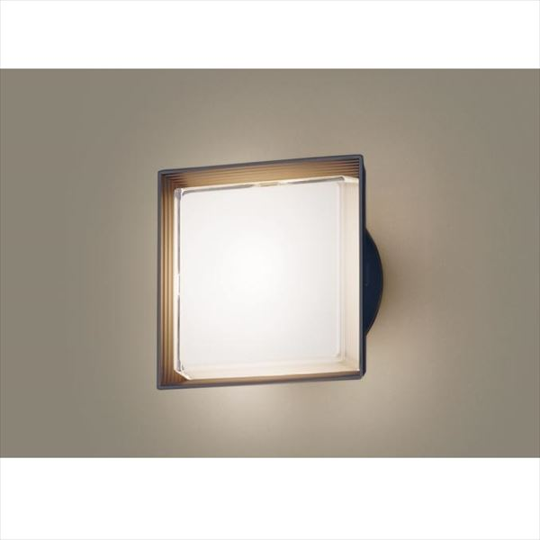 パナソニック LEDブラケット・デザインシリーズ LGW80302LE1(100V) 『エクステリア照明 ライト』 オフブラック