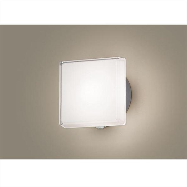 パナソニック LEDブラケット・デザインシリーズ センサあり・段調光省エネ型 LGWC80306LE1(100V) 『エクステリア照明 ライト』 シルバーメタリック