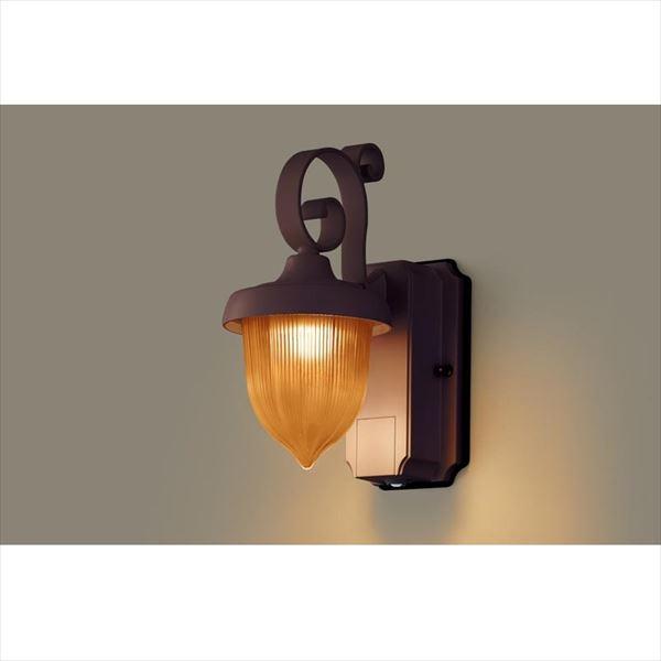 パナソニック LEDブラケット・デザインシリーズ センサあり・段調光省エネ型 LGWC80238LE1(100V) 『エクステリア照明 ライト』 アンバー
