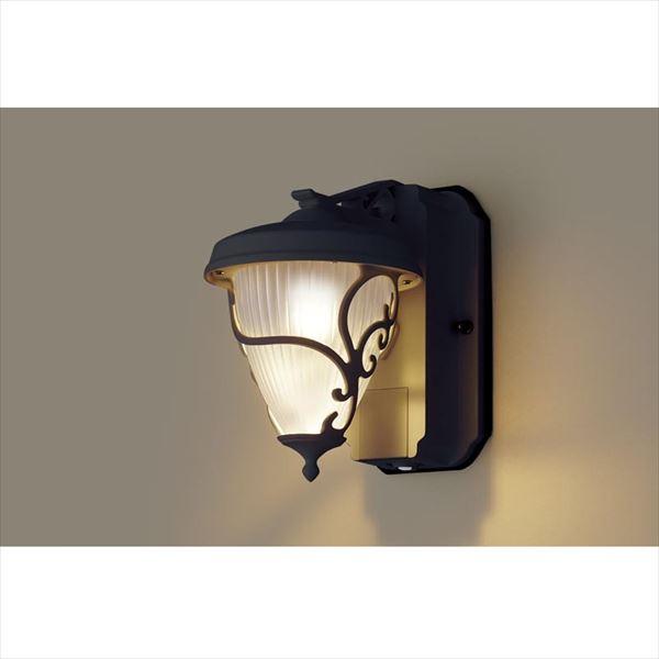 パナソニック LEDブラケット・デザインシリーズ センサあり・段調光省エネ型 LGWC80241LE1(100V) 『エクステリア照明 ライト』 オフブラック