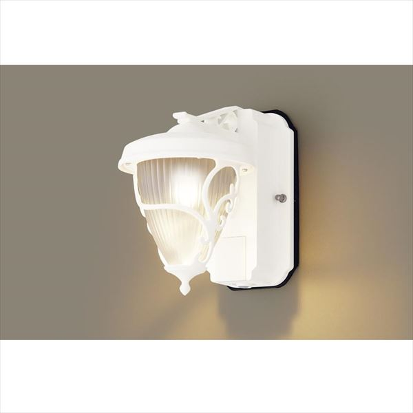 パナソニック LEDブラケット・デザインシリーズ センサあり・段調光省エネ型 LGWC80242LE1(100V) 『エクステリア照明 ライト』 ホワイト