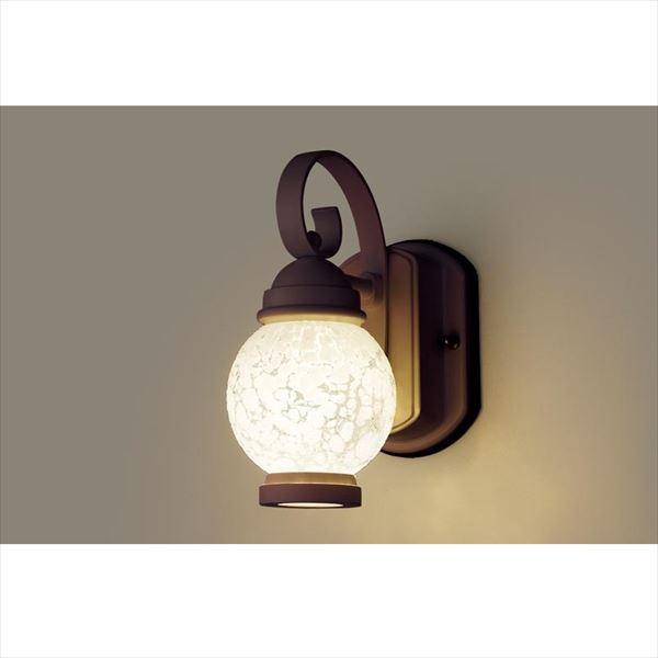 パナソニック LEDブラケット・デザインシリーズ LGW80250LE1(100V) 『エクステリア照明 ライト』 ダークブラウンメタリック
