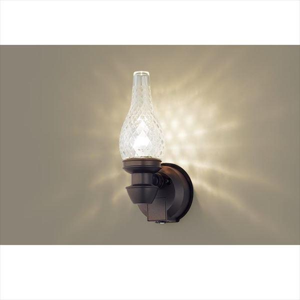 パナソニック LEDブラケット・デザインシリーズ センサあり・点灯省エネ型 LGWC85210K(100V) 『エクステリア照明 ライト』 ダークブラウンメタリック