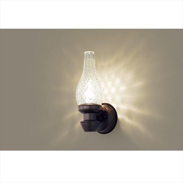 パナソニック LEDブラケット・デザインシリーズ LGW85210K(100V) 『エクステリア照明 ライト』 ダークブラウンメタリック