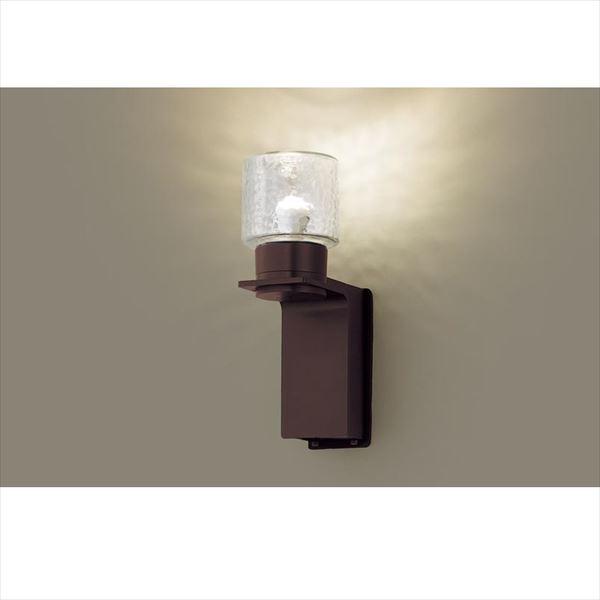 パナソニック LEDブラケット・デザインシリーズ LGW85214K(100V) 『エクステリア照明 ライト』 ダークブラウンメタリック