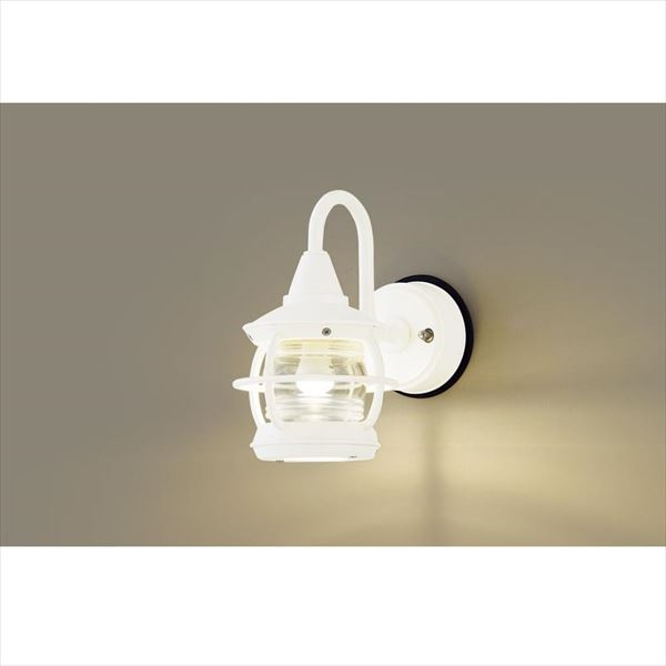 パナソニック LEDブラケット・デザインシリーズ LGW85218K(100V) 『エクステリア照明 ライト』 ホワイト