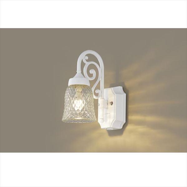 パナソニック LEDブラケット・デザインシリーズ センサあり・点灯省エネ型 LGWC85203W(100V) 『エクステリア照明 ライト』 ホワイト