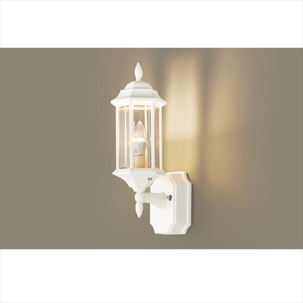 パナソニック LEDブラケット・デザインシリーズ LGW85205W(100V) 『エクステリア照明 ライト』 ホワイト