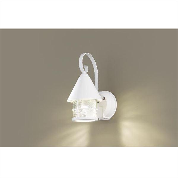 パナソニック LEDブラケット・デザインシリーズ センサあり・点灯省エネ型 LGWC85044WK(100V) 『エクステリア照明 ライト』 ホワイト