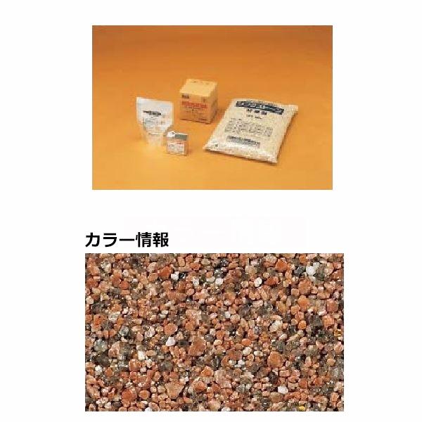 四国化成 リンクストーンM 1.5m2(平米)セット品 LS15-UM674 『外構DIY部品』 赤みかげ
