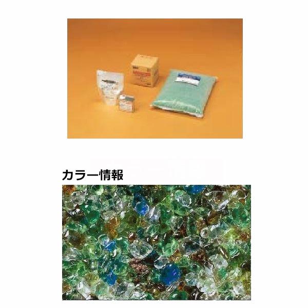 四国化成 リンクストーンG 1.5m2(平米)セット品 LS15-UG651 『外構DIY部品』 混色