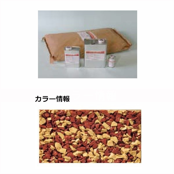 四国化成 チップロードソフト CPRS30-55+54 3m2(平米)セット 鏝塗タイプ 混色 『外構DIY部品』