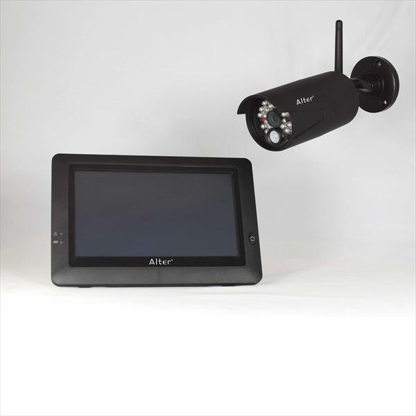 DXアンテナ ハイビジョン無線カメラ&モニターセット AT-8801 ブラック