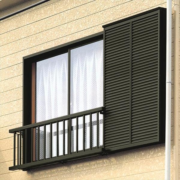 リクシル アルミ手すりS型 雨戸付引違い窓用 半外付型 九州・四国間 W1384×H500 CDAG12805