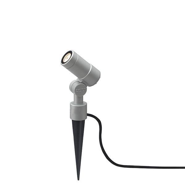 タカショー ガーデンアップライト オプティ・スリム S 100V 中角 HFE-D65S #75083200 『エクステリア照明 』 シルバー