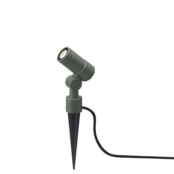 タカショー ガーデンアップライト オプティ・スリム S 100V 中角 HFE-D65C #75082500 『エクステリア照明 』 チャコールグリーン