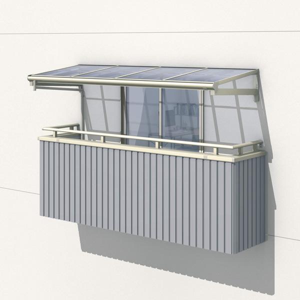 三協アルミ レボリューZ 0.5間×4尺 1500タイプ/メーターモジュール/1・2・3階用F型/柱なし式/単体 *雨トイは3m×2本を手配します 『テラス屋根』 熱線吸収ポリカ