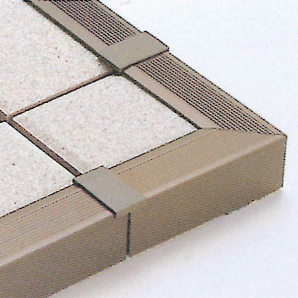 リクシル ステージア 端部カバー材 出隅用 100×100mm 10本 ダークブラウン #WPAZ420 ダークブラウン