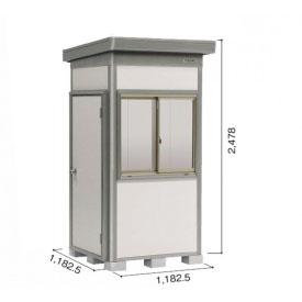 ヨドコウ DZB/ヨド蔵MD DZB-1111HW 物置 一般型  『追加金額で工事も可能』 『断熱タイプの屋外用 中型・大型物置』 サンドグレージュ
