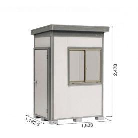 ヨドコウ DZB/ヨド蔵MD DZB-1511HW 物置 一般型  『追加金額で工事も可能』 『断熱タイプの屋外用 中型・大型物置』 サンドグレージュ